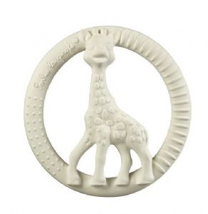 So Pure Sophie la girafe Circle Teether